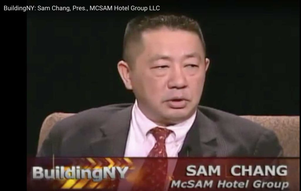 Sam Chang and Hyatt Place Hotel Line Up Some Serious Funding